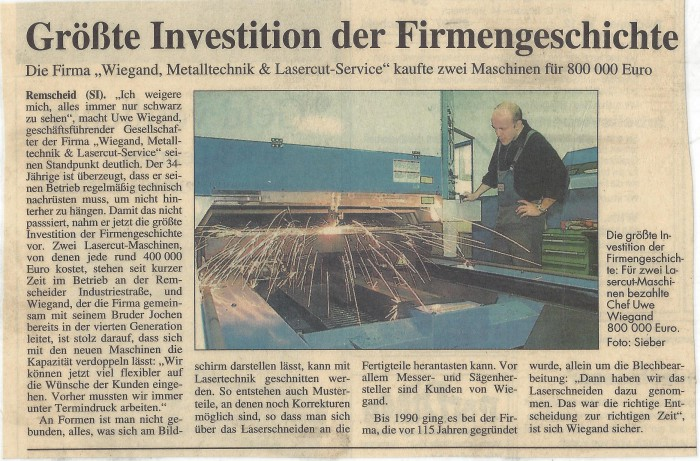 groeste-investition