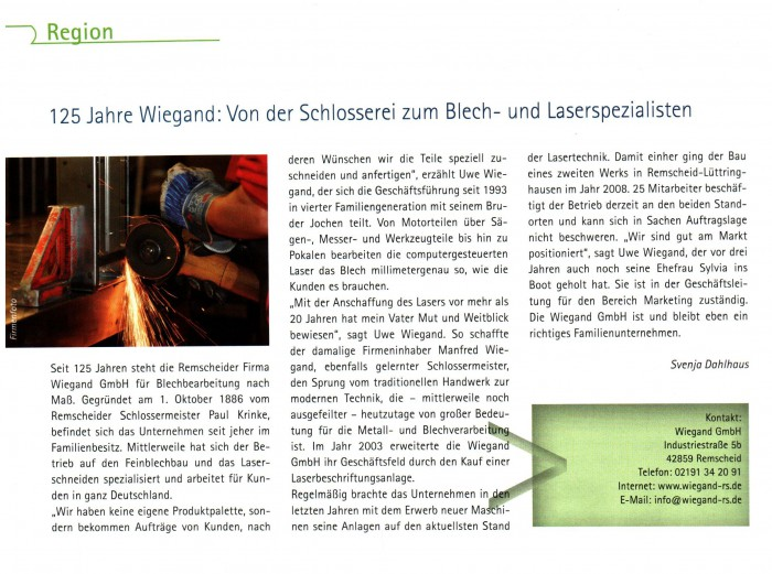 Bergische Wirtschaft 10_2011