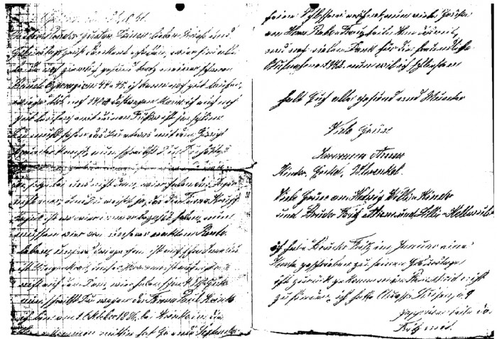 Brief 1886
