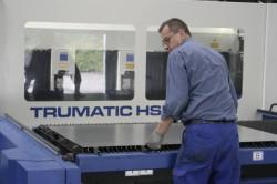 Wiegand GmbH - Metalltechnik Trumpf 4KW Laser